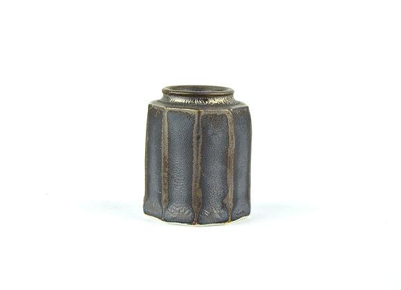 No. K108 Yuta Segawa Miniature Pot 'Cut Side' Medium