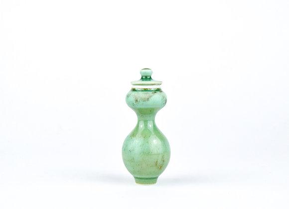 No. E58 Yuta Segawa Miniature Pot & Cover  Medium