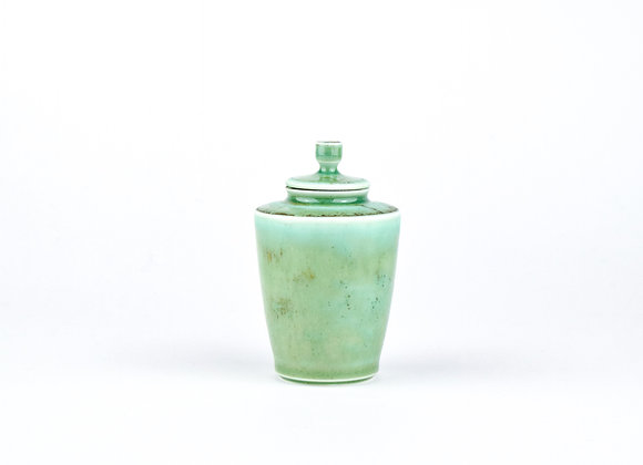 No. E24 Yuta Segawa Miniature Pot & Cover  Large