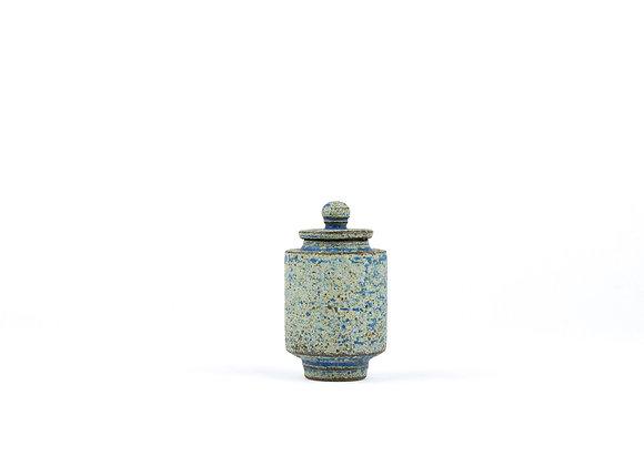 No. E68 Yuta Segawa Miniature Pot & Cover  Medium