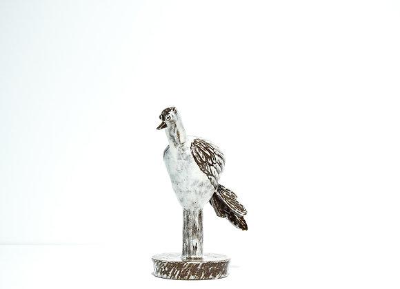 """Miyu Kurihara No.71 Bird vase """"Crane"""""""