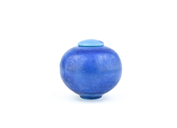 No. E118 Yuta Segawa Miniature Pot & Cover  Large