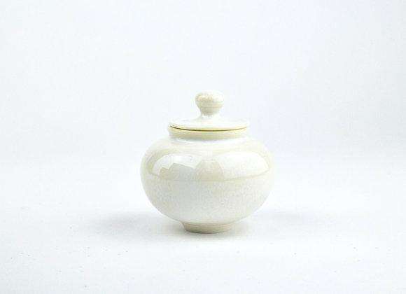 No. E113 Yuta Segawa Miniature Pot & Cover  Medium