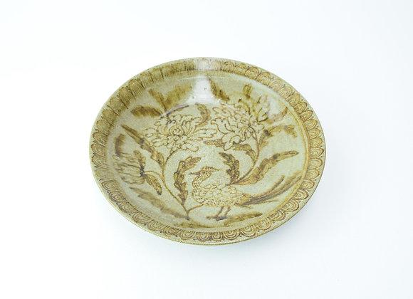 "Plate No.7 Miyu Kurihara x Yuta Segawa""Pheasant and flowers"""