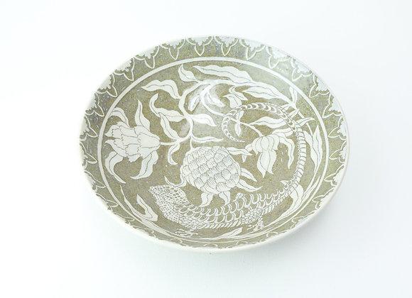 """Large bowl No.1 Miyu Kurihara x Yuta Segawa """"Chameleon"""""""