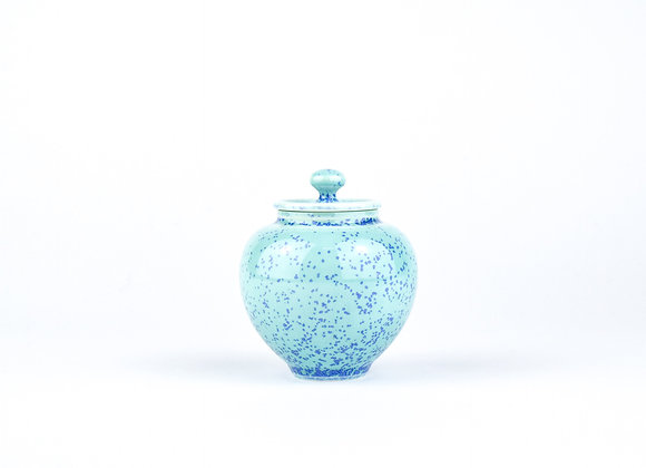 No. E25 Yuta Segawa Miniature Pot & Cover  Large