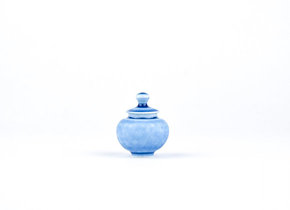 No. E80 Yuta Segawa Miniature Pot & Cover  Small