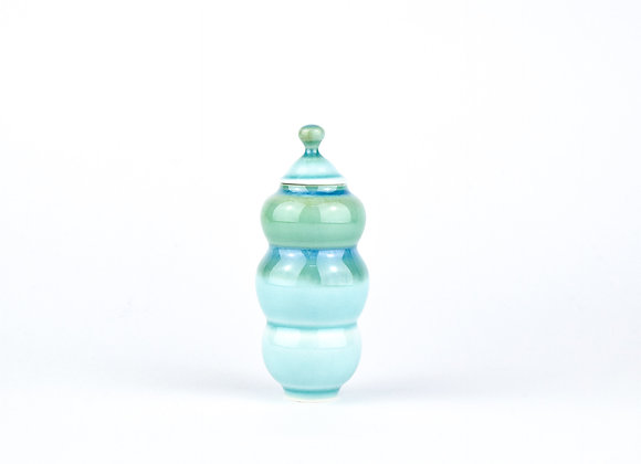 No. E23 Yuta Segawa Miniature Pot & Cover  Large