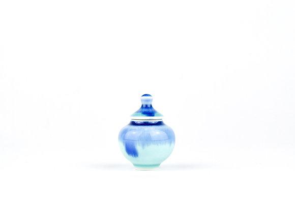No. E76 Yuta Segawa Miniature Pot & Cover  Small
