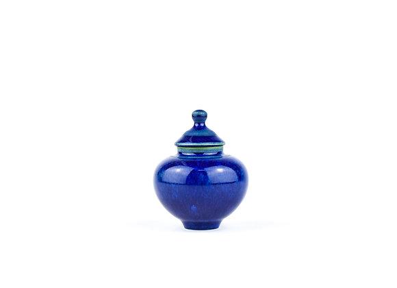 No. E45 Yuta Segawa Miniature Pot & Cover  Medium