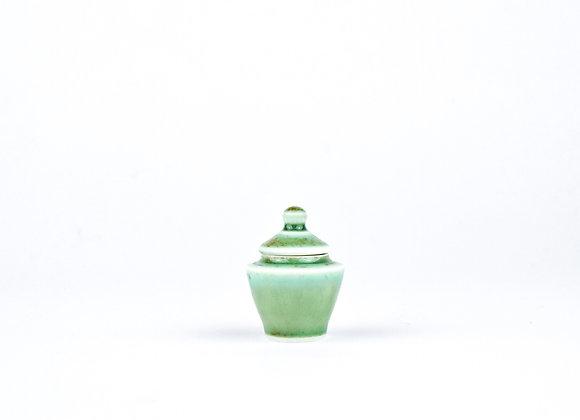 No. E79 Yuta Segawa Miniature Pot & Cover  Small
