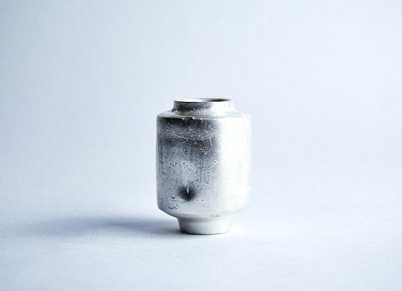 No. S12 Yuta Segawa Miniature Pot 'Silver' Medium