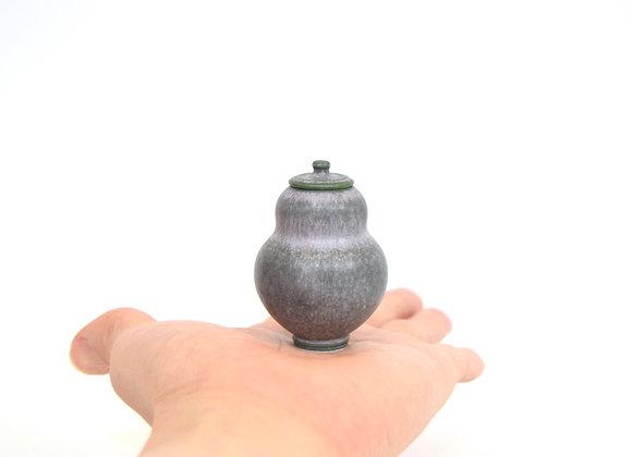 Miniature Pot&Cover Medium No.17