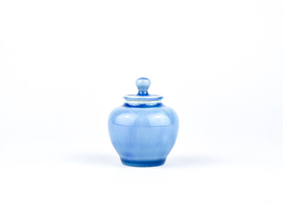 No. E61 Yuta Segawa Miniature Pot & Cover  Medium