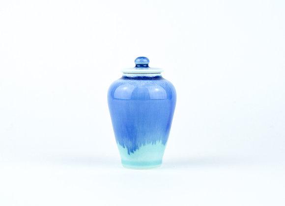 No. E17 Yuta Segawa Miniature Pot & Cover  Large