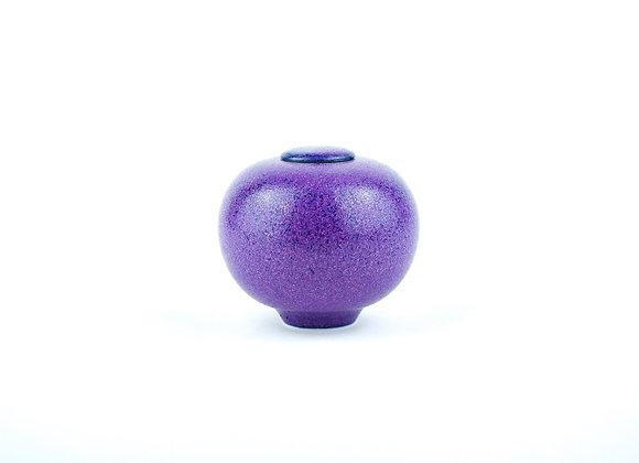 No. M156 Yuta Segawa Miniature Pot & Cover  Medium