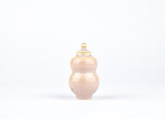 No. E49 Yuta Segawa Miniature Pot & Cover  Medium