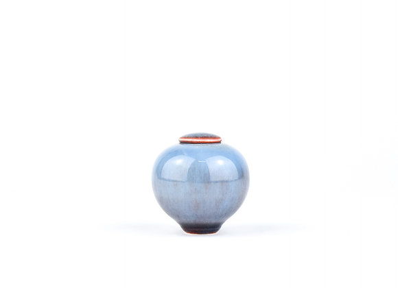 No. E51 Yuta Segawa Miniature Pot & Cover  Medium