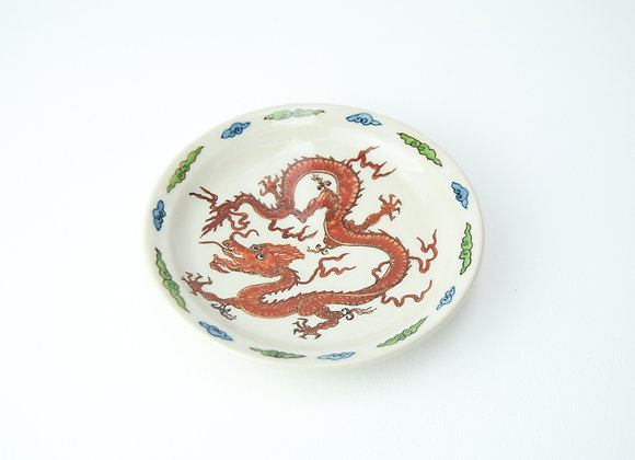 "Plate No.20 Miyu Kurihara x Yuta Segawa ""Red dragon"""