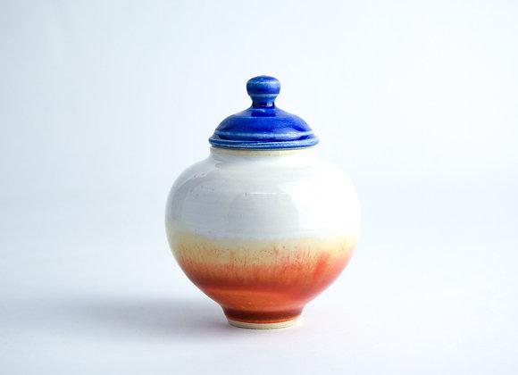 No. SA111 Yuta Segawa Miniature Pot & Cover  Large