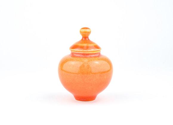 No. E112 Yuta Segawa Miniature Pot & Cover  Medium