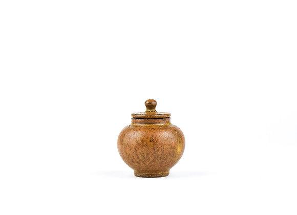 No. E52 Yuta Segawa Miniature Pot & Cover  Medium