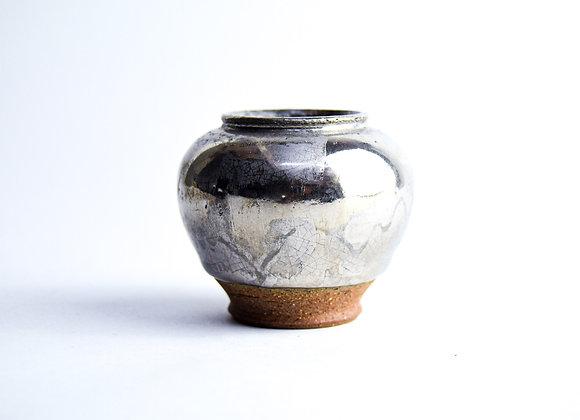 No. S30 Yuta Segawa Miniature Pot 'Platinum' Large