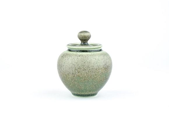 No. E117 Yuta Segawa Miniature Pot & Cover  Large