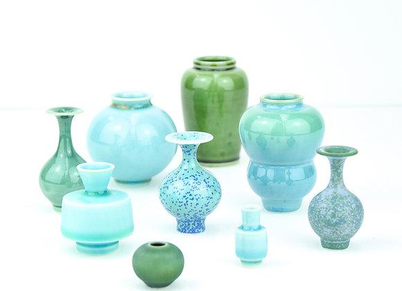 Miniature pot Green