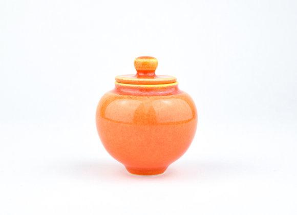 No. E110 Yuta Segawa Miniature Pot & Cover  Medium