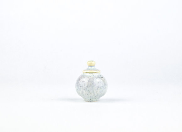 No. E73 Yuta Segawa Miniature Pot & Cover  Small