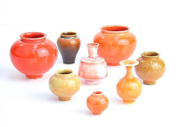 Miniature pot Orange