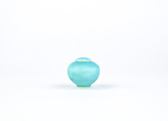 No. E84 Yuta Segawa Miniature Pot & Cover  Small
