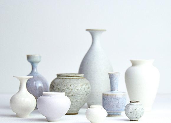 Miniature pot White