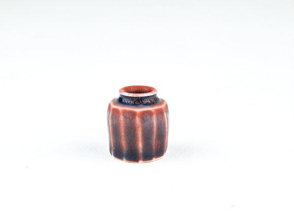 D37 Yuta Segawa Miniature Pot Small'Cut Side'