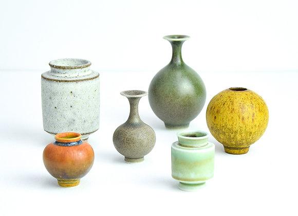 Miniature pot Natural matt colours
