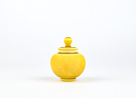 No. E55 Yuta Segawa Miniature Pot & Cover  Medium