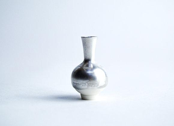 No. S4 Yuta Segawa Miniature Pot 'Silver' Small
