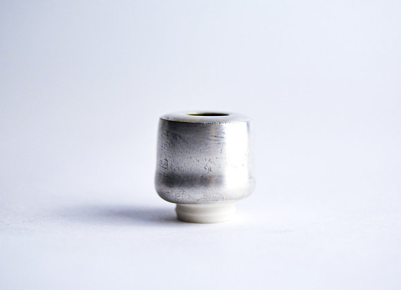 No. S10 Yuta Segawa Miniature Pot 'Silver' Small