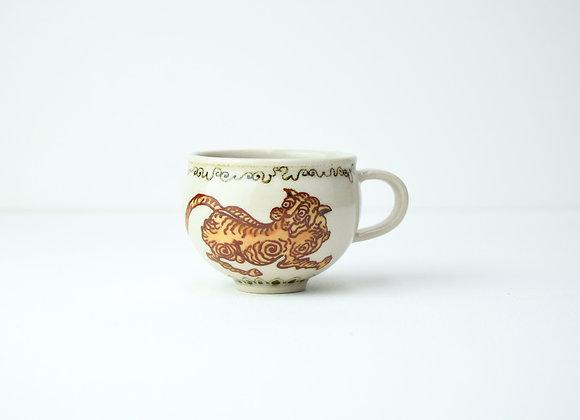 """Espresso cup No.24 Miyu Kurihara x Yuta Segawa """"Tiger"""""""