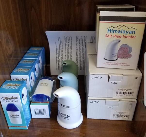 Himalayan Salt Inhalers