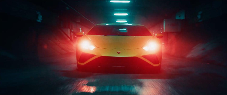 Lamborghini commercial frame