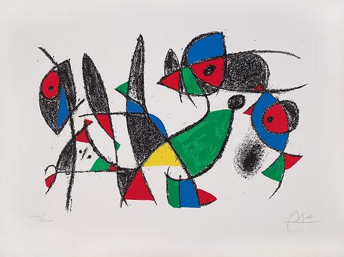 米羅原創版畫_Miró Lithographs II