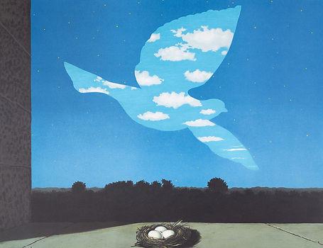 16 Gallerydesol_rene magritte_Le retour.