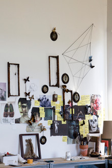 Wall in Laurence's studio.jpg