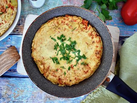 Kichererbsen-Omelette