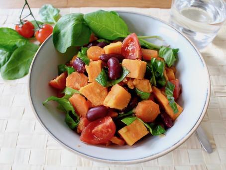 Süßkartoffel-Bohnen-Ragout