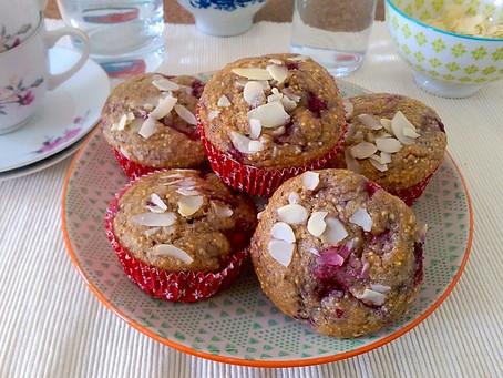 Himbeer-Amaranth-Muffins