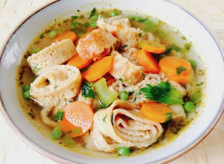 Frittaten- oder Flädle-Suppe