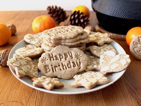 Spekulatius-Kekse zum 2. Blog-Geburtstag